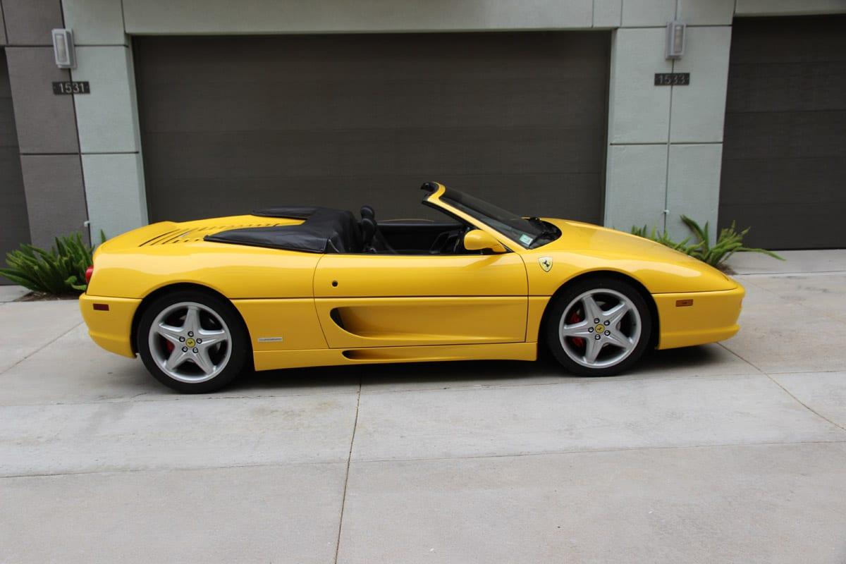 1999 Ferrari 355 F1 Spider #117039