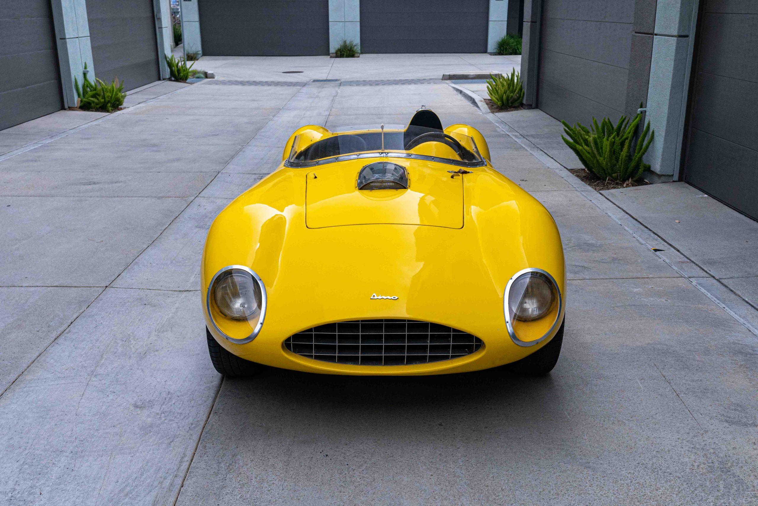 1957 Ferrari 196 SP front view