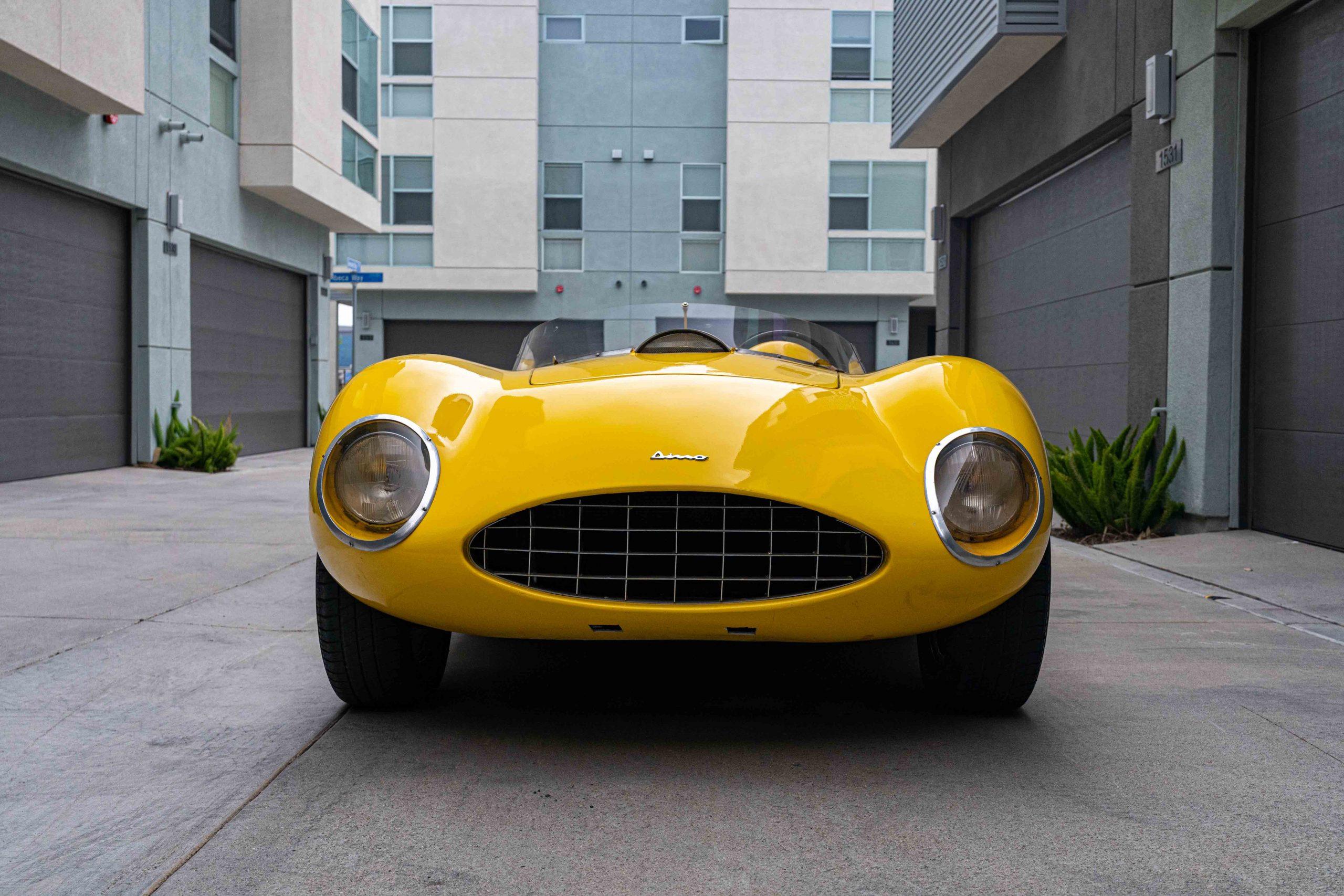 1957 Ferrari 196 SP front nose low