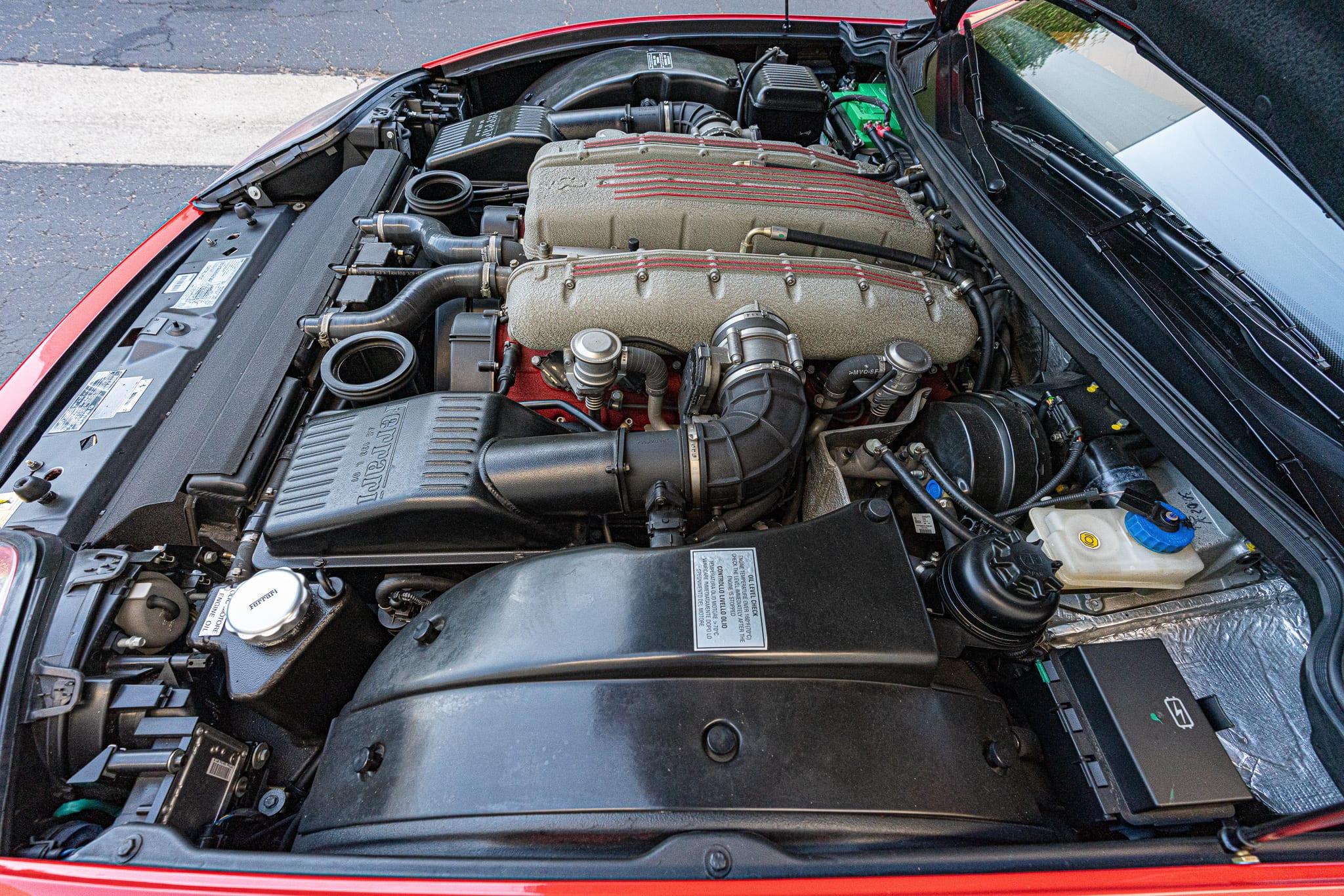 2002 Ferrari 575M F1 Fiorano #130104