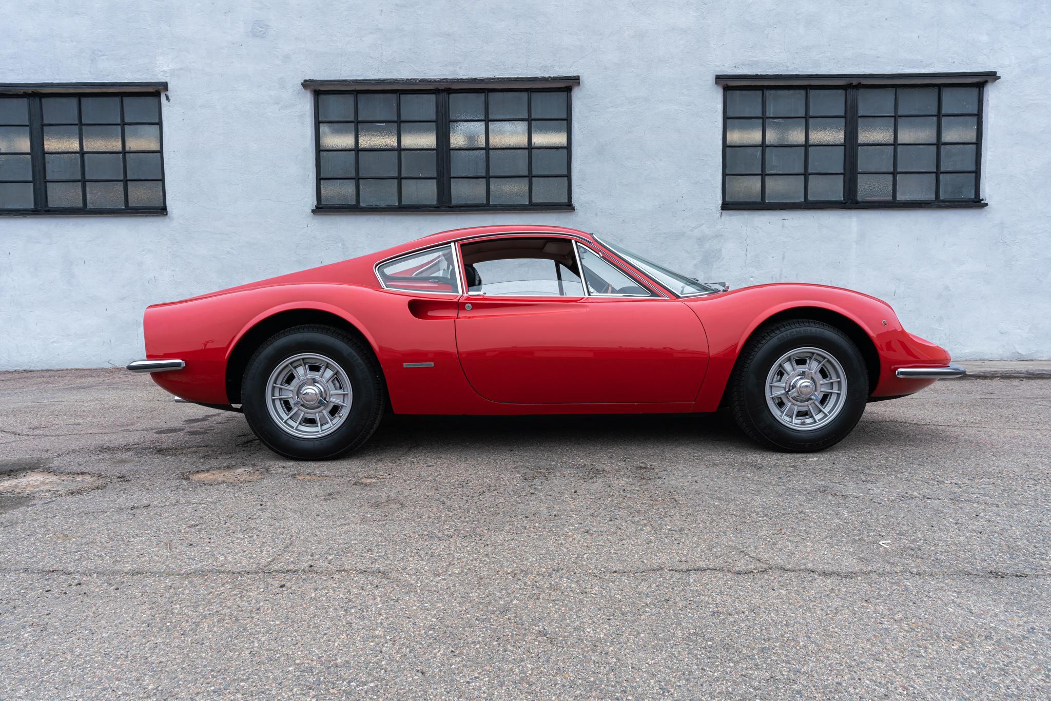 1968 Ferrari Dino 206 GT #00244 GT