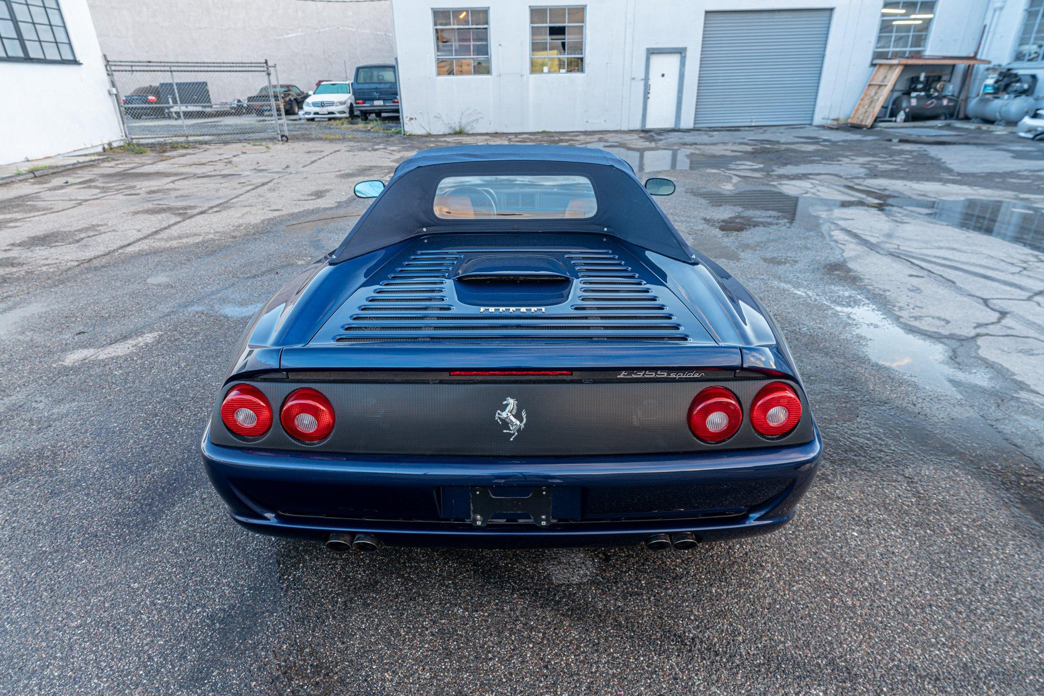 1998 Ferrari F355 Spider #111312