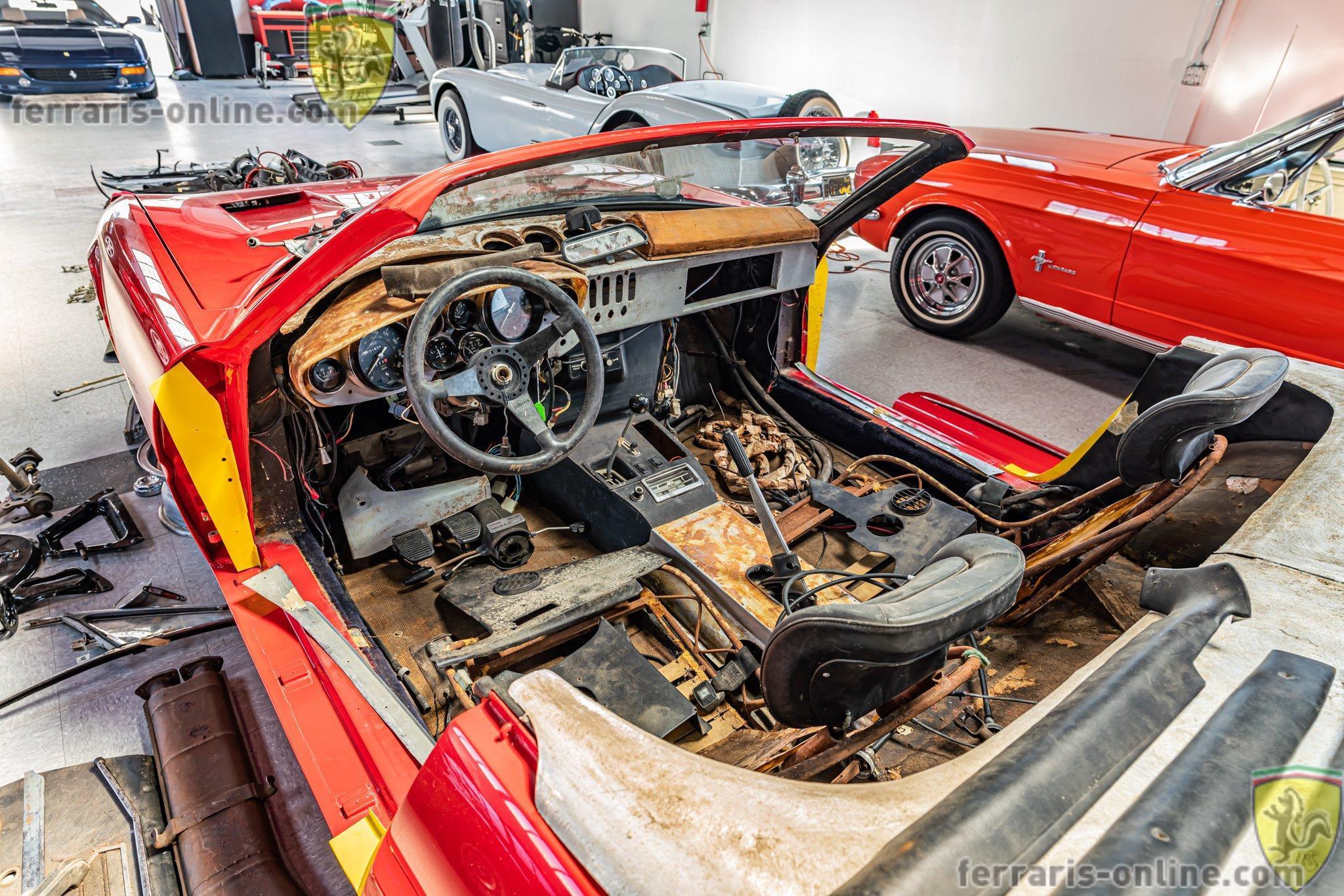 Barn Find 1973 Ferrari 365 GTS/4 (Daytona Spyder) #17041