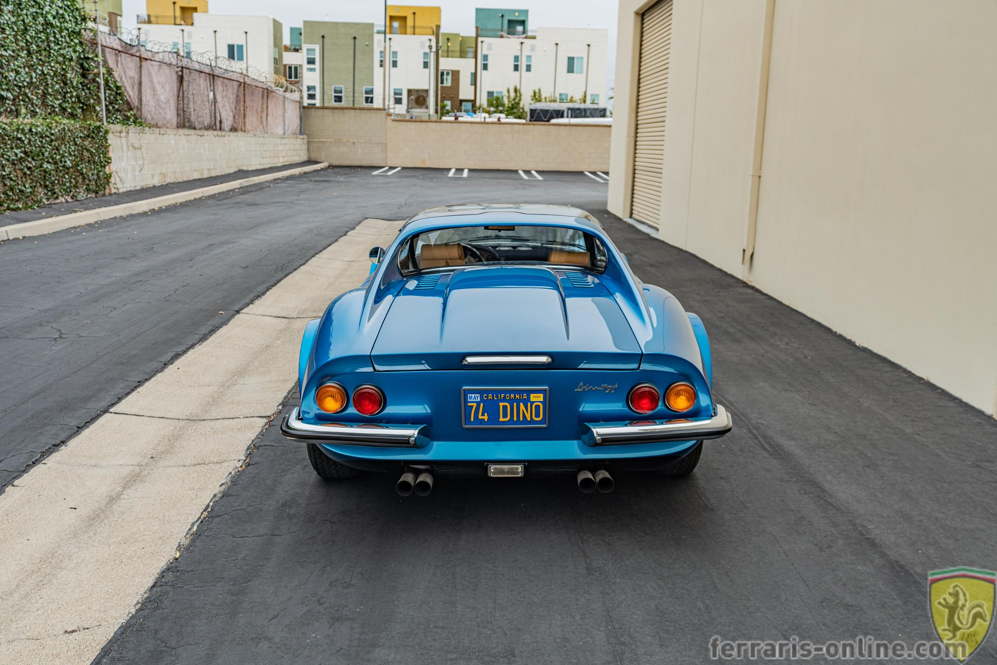 "Ferrari 246 GTS Dino ""chairs and flares"" #07836"