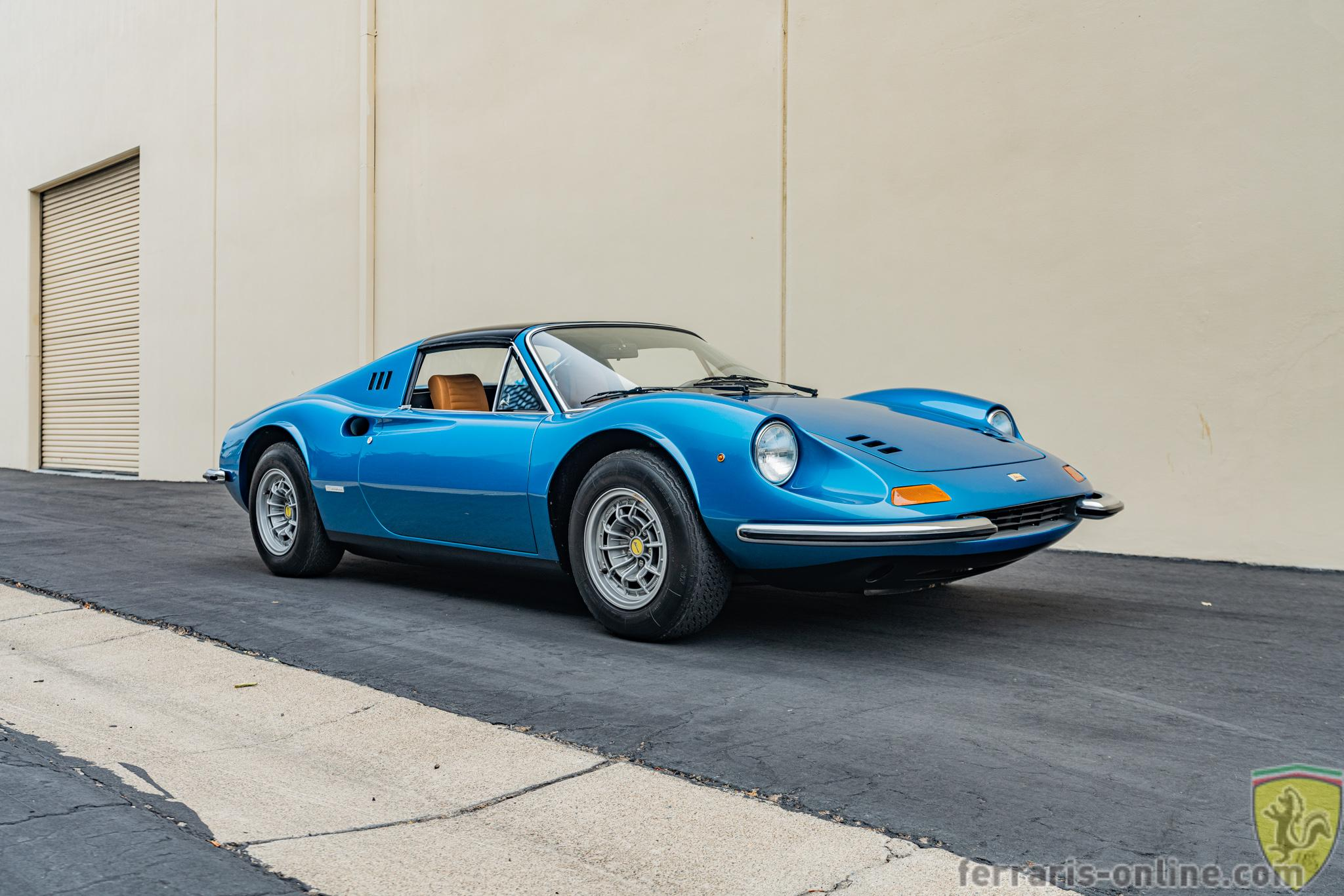 """Ferrari 246 GTS Dino """"chairs and flares"""" #07836"""