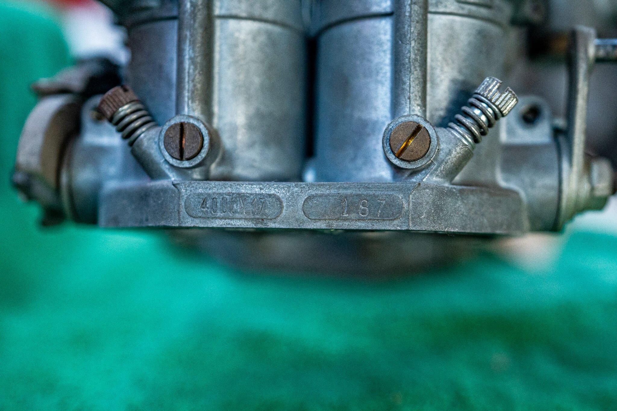 1965 Ferrari 206 SP engine