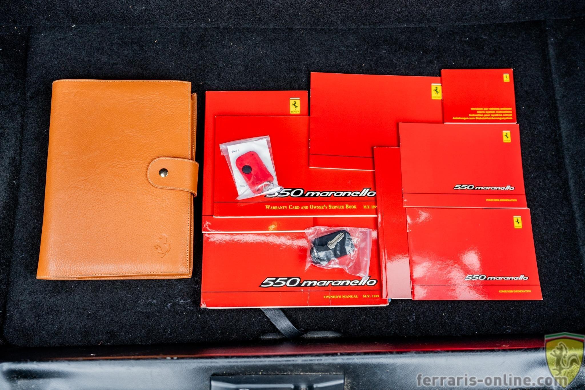 1999 Ferrari 550 Maranello #115139