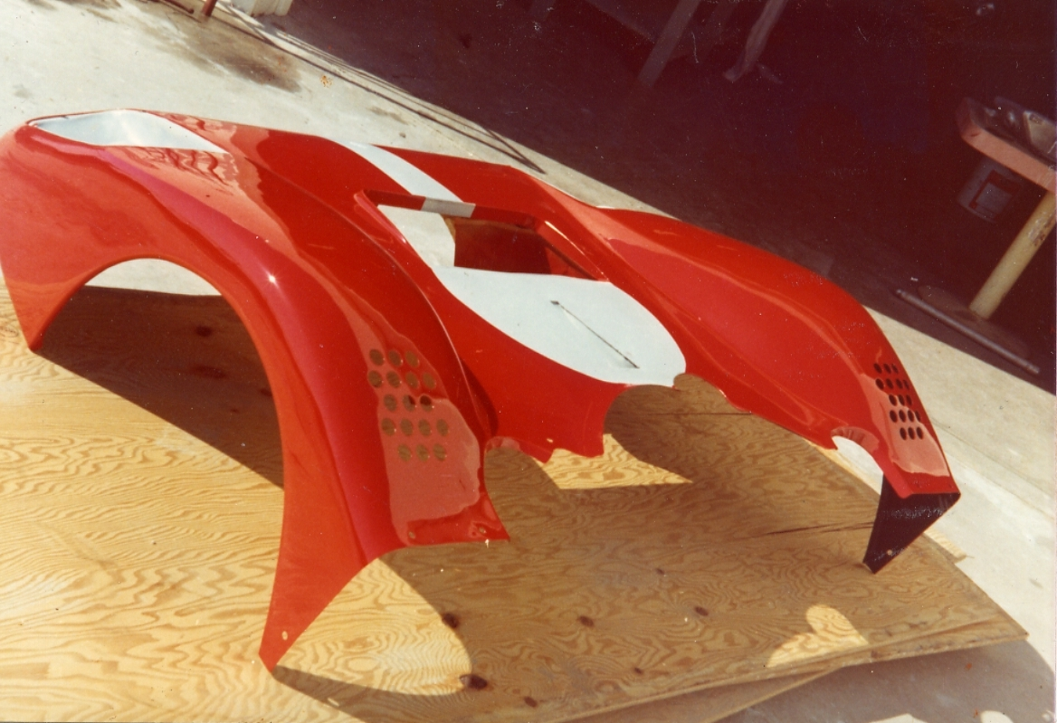 Ferrari 512 M nose from #1020