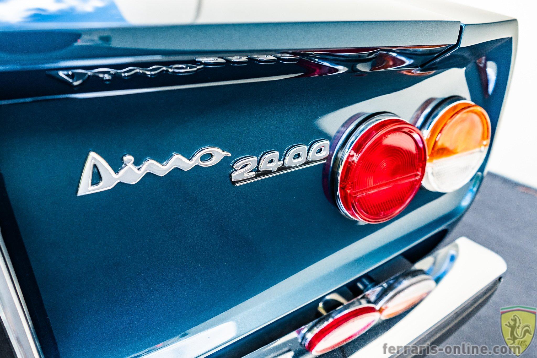 1971 Fiat Dino Spyder #01516