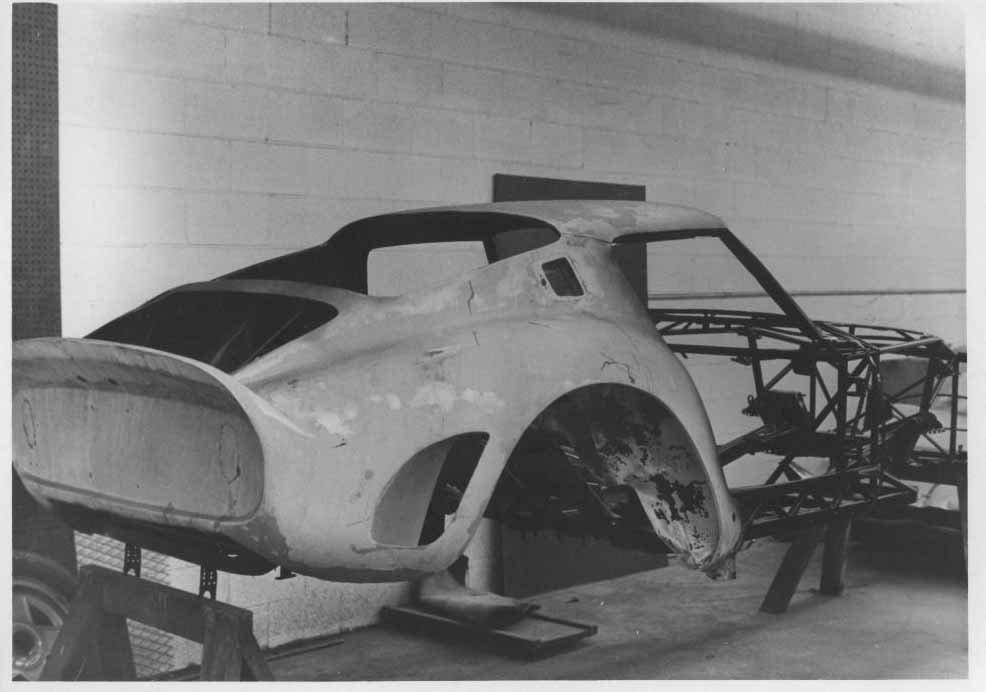 original nose from 250 GTO #3387 GT