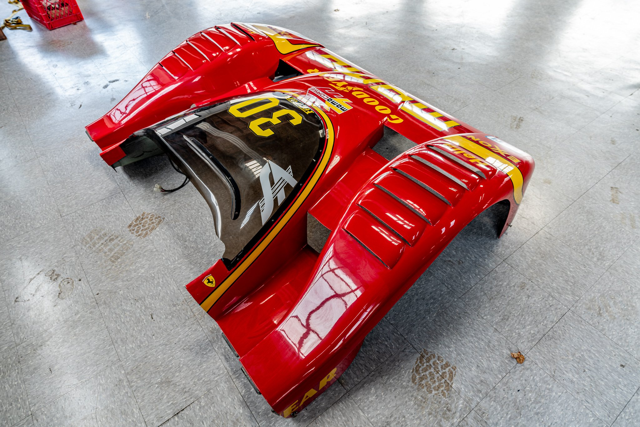 original spare nose from ferrari 333 SP #06
