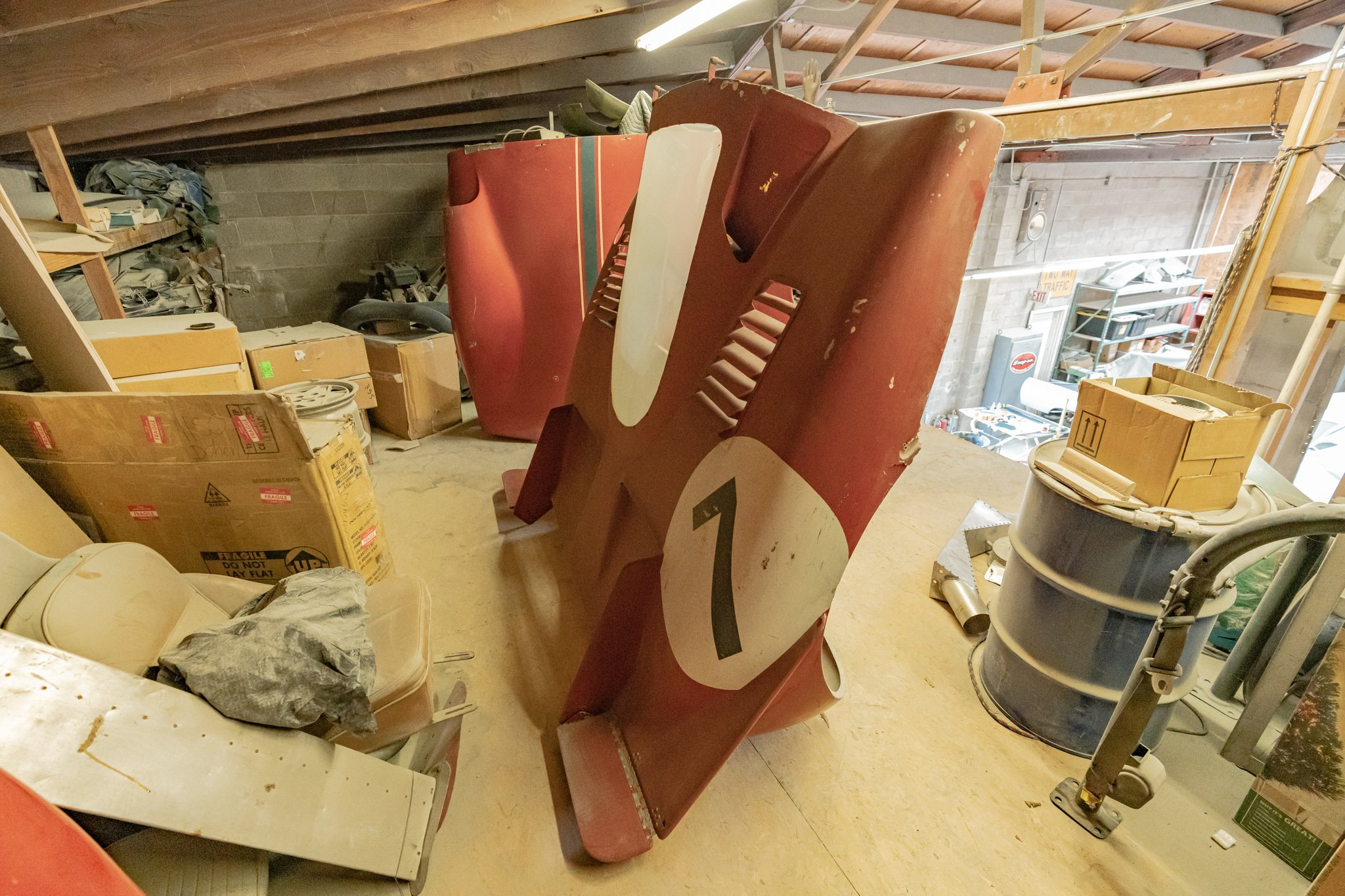 1970 Ferrari 512S tail