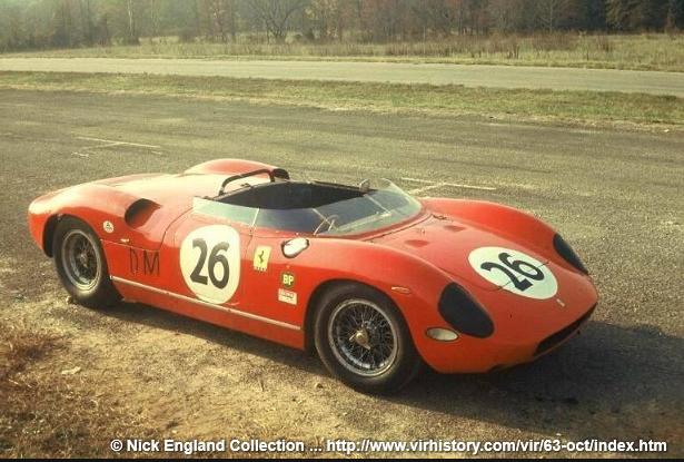 Ferrari 250 P tail #816