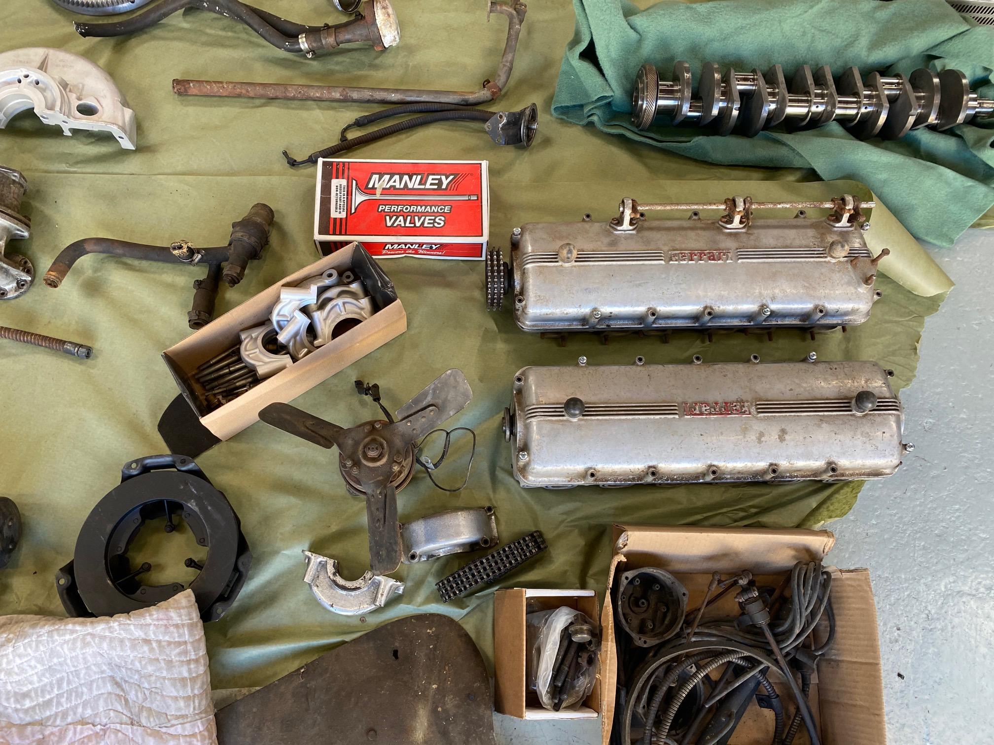 1961 Ferrari 250 GTE engine #2451GTE