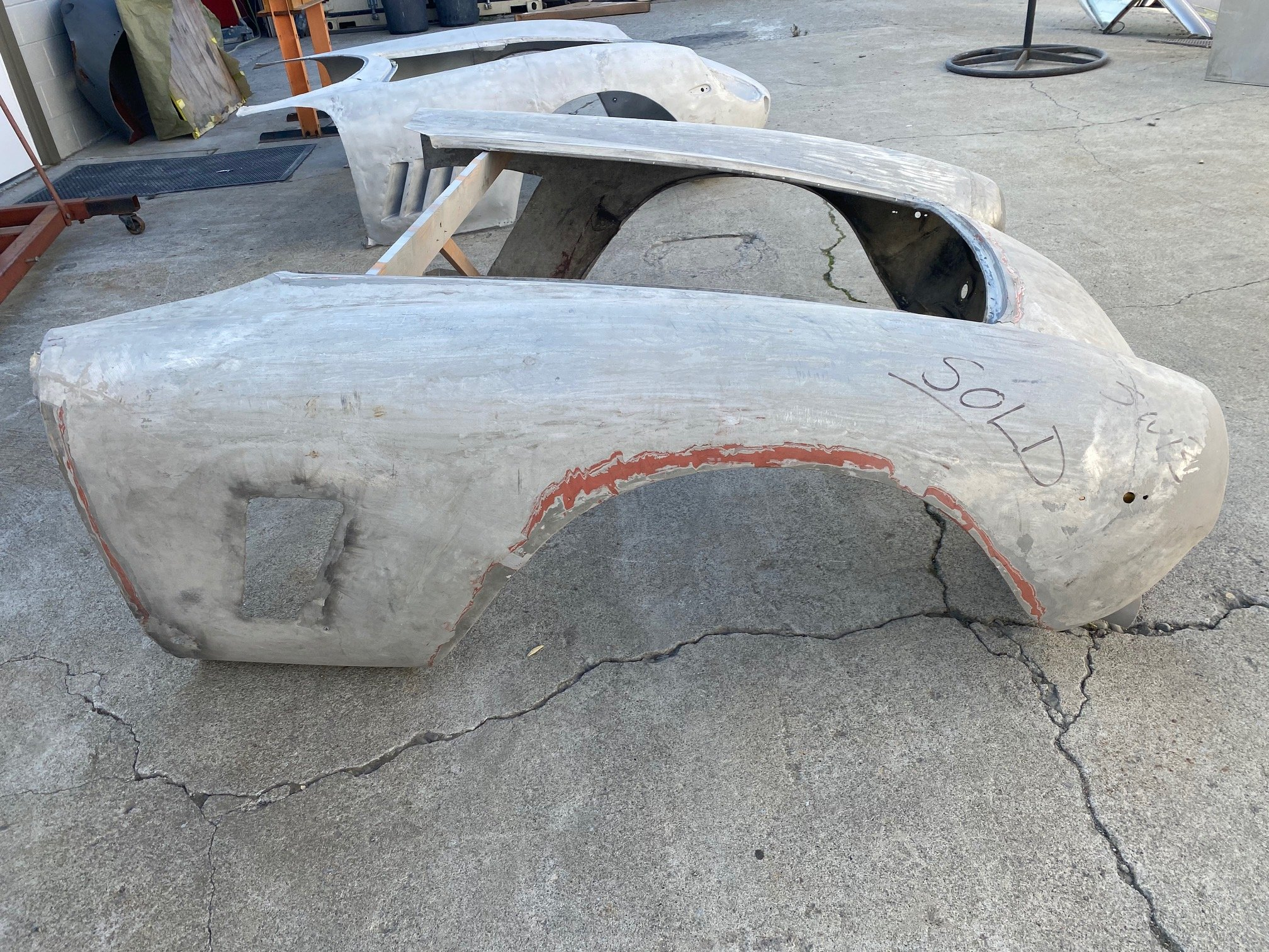 original alloy nose from 250 swb