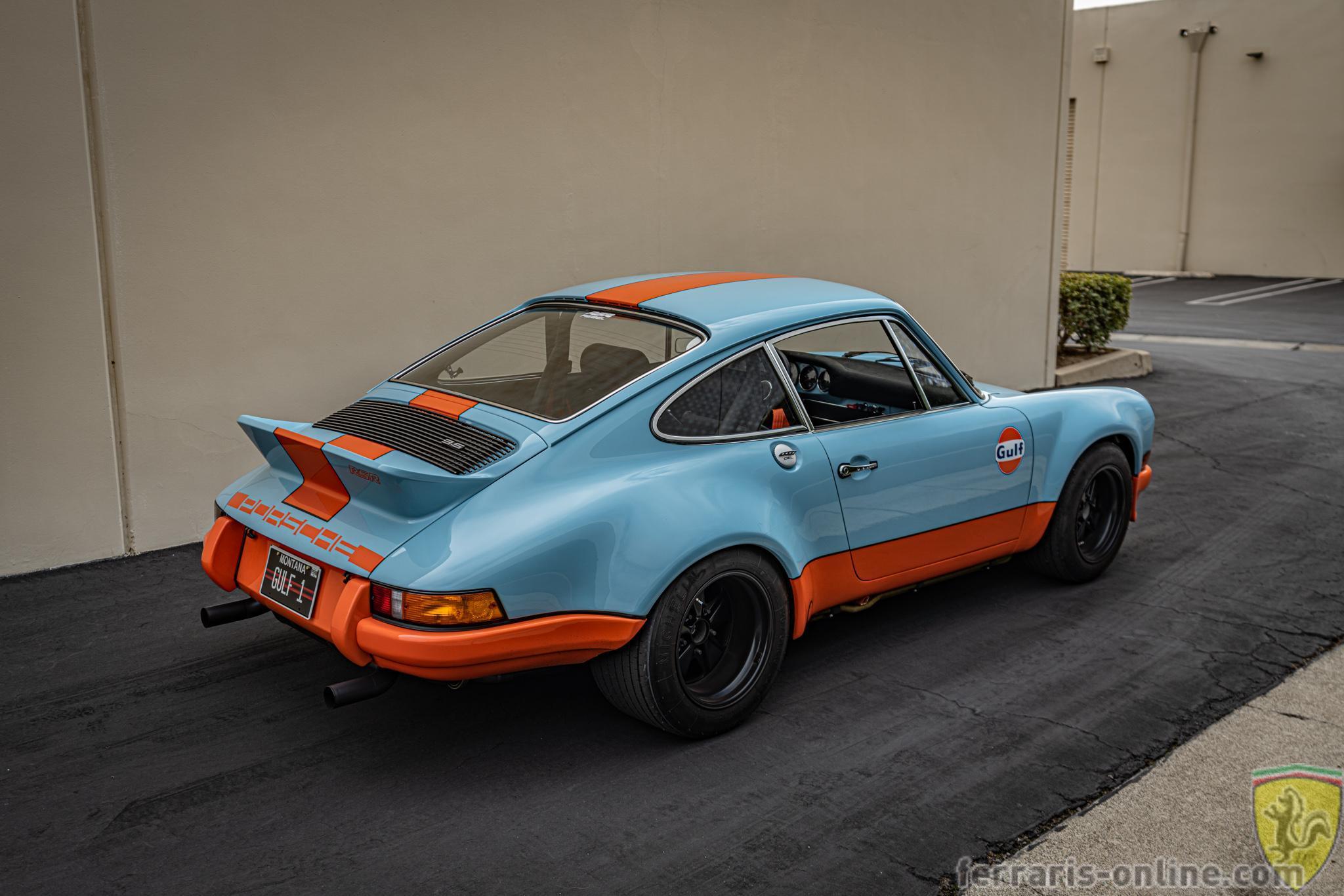 1973 Porsche 911 RSR Rebel Gulf Porsche tribute #102808