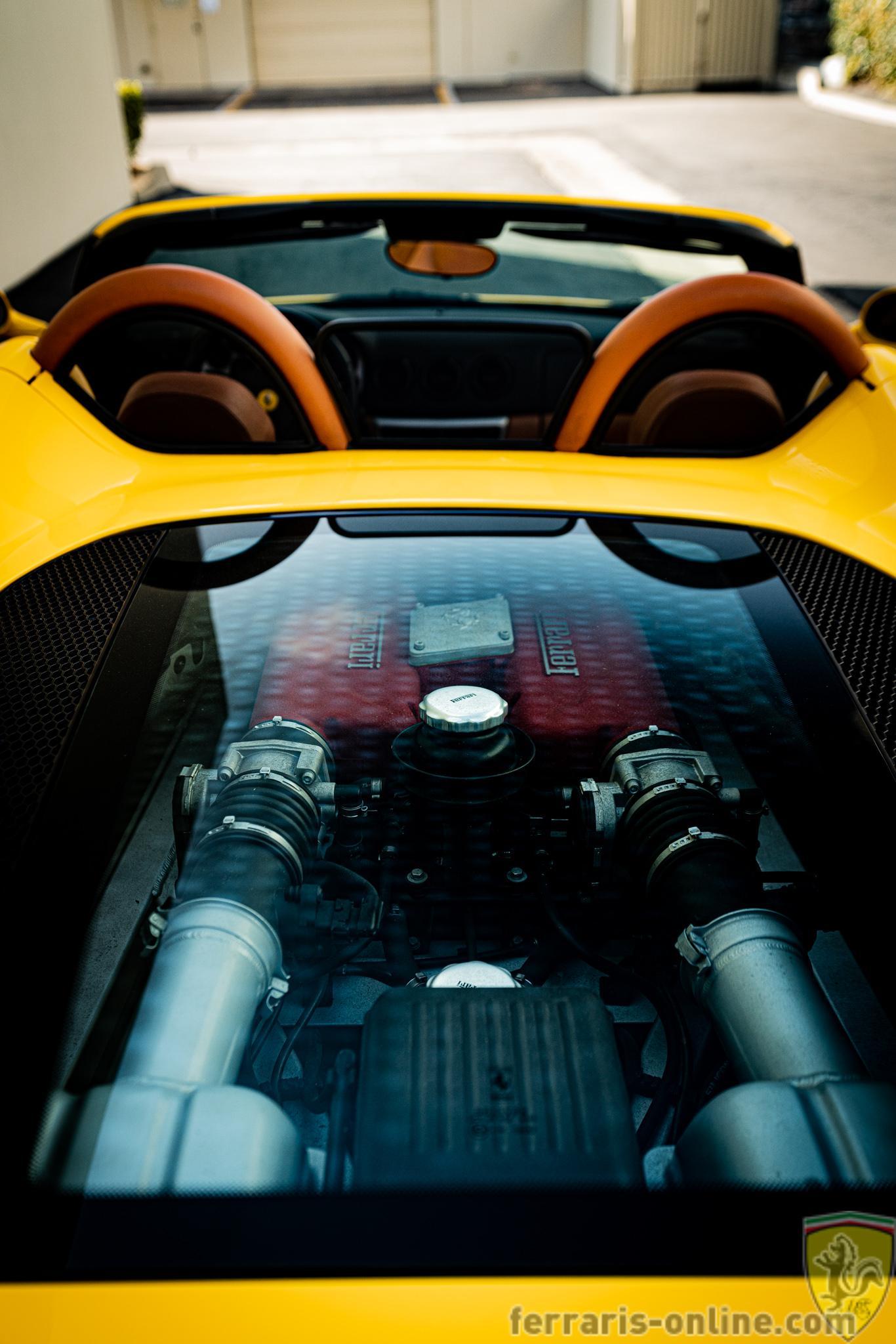 2002 Ferrari 360 spider 6-speed #128751