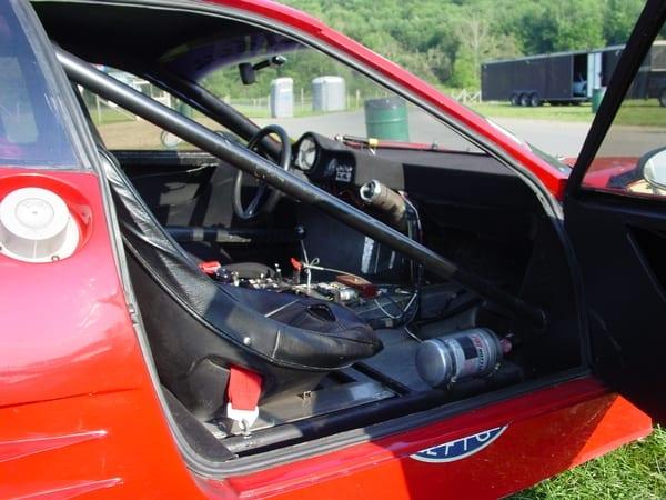 inside passenger side 1981 FERRARI 512 BB/LM SILHOUETTE #35527