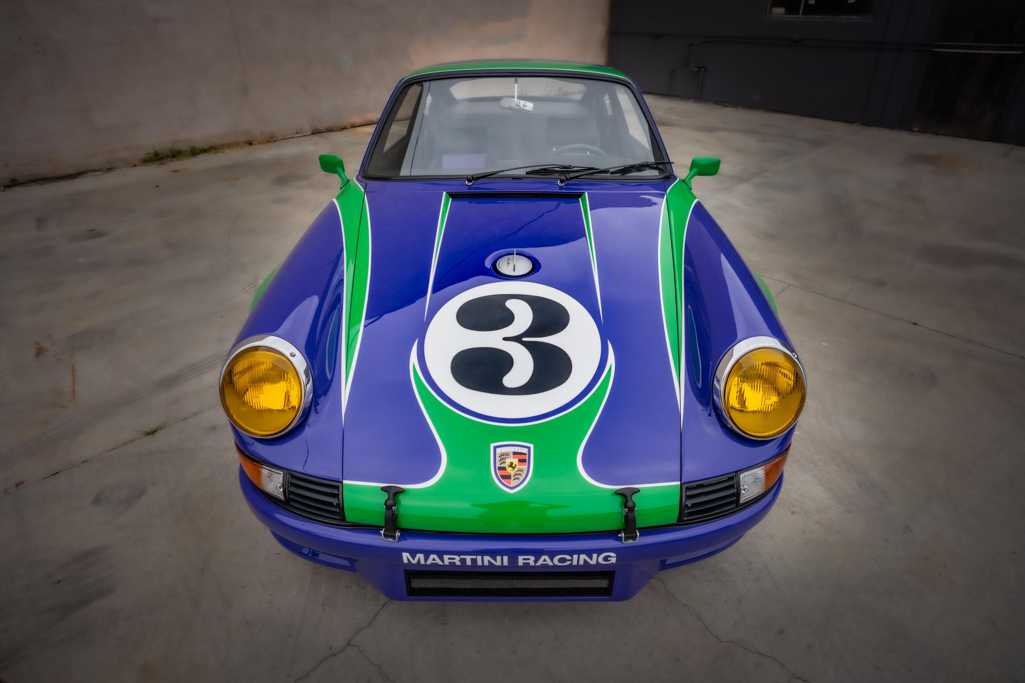 1973 Porsche 911 RSR Hippie nose view