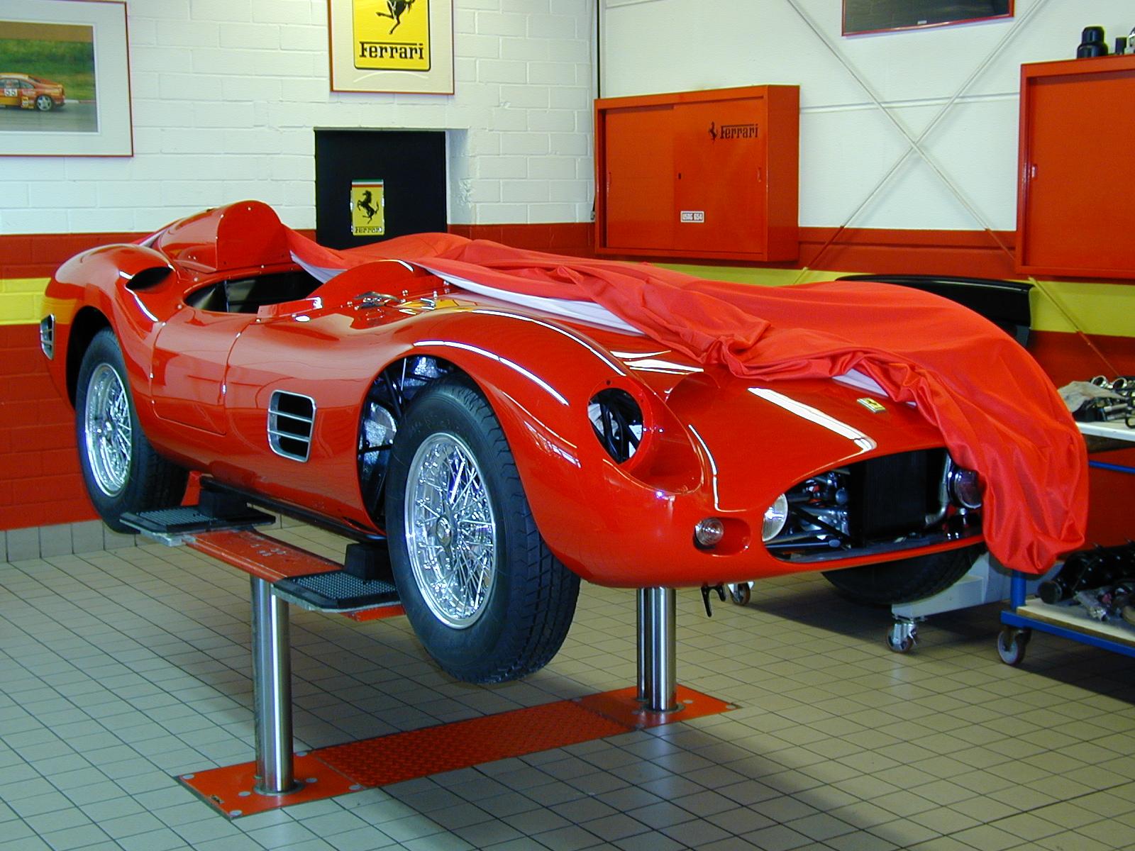 1959 Ferrari 250 Testarossa restoration