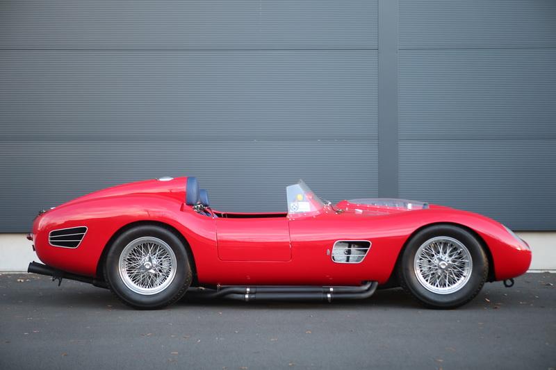 1959 Ferrari Testarossa side view