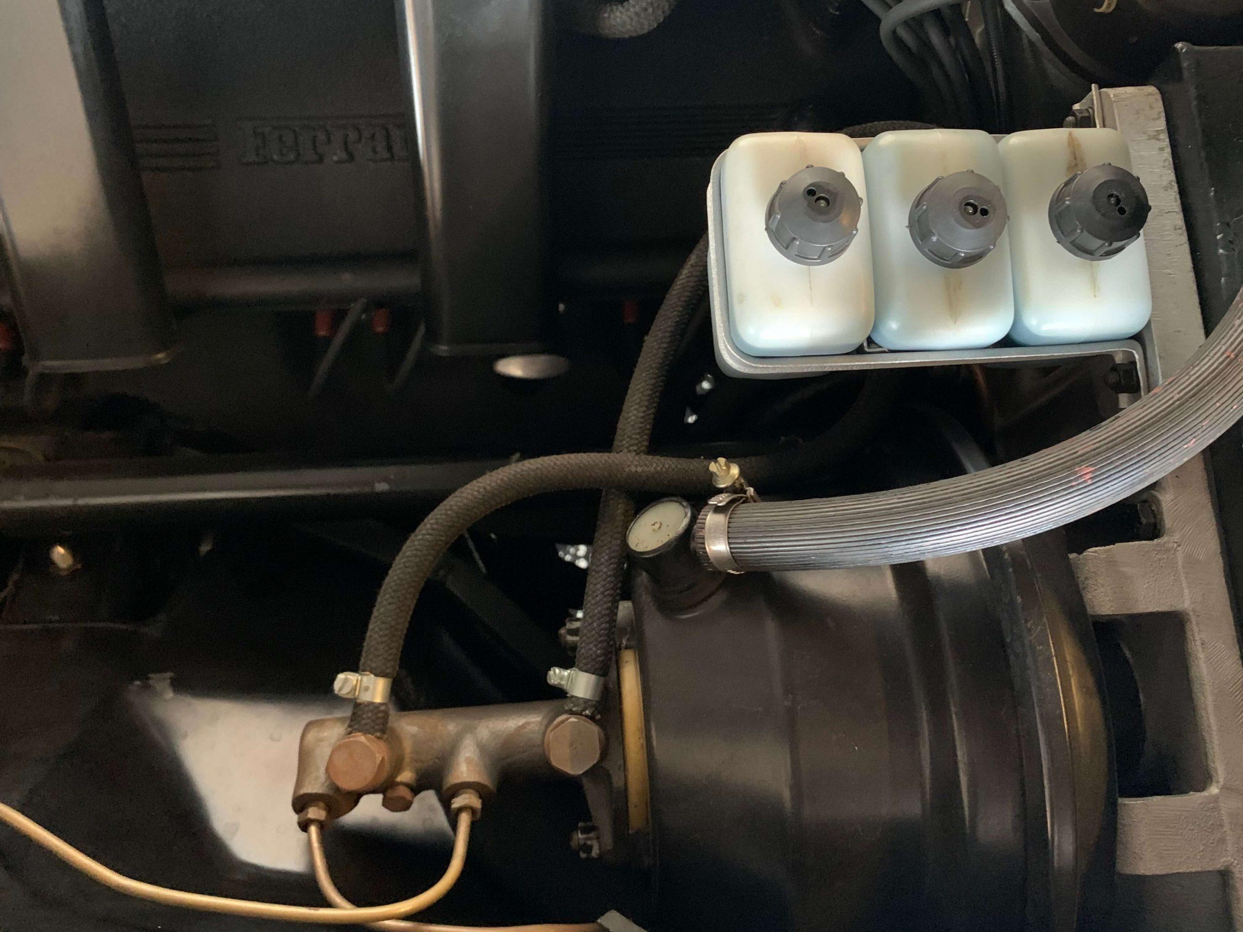 Ferrari 330 GTC Brake system