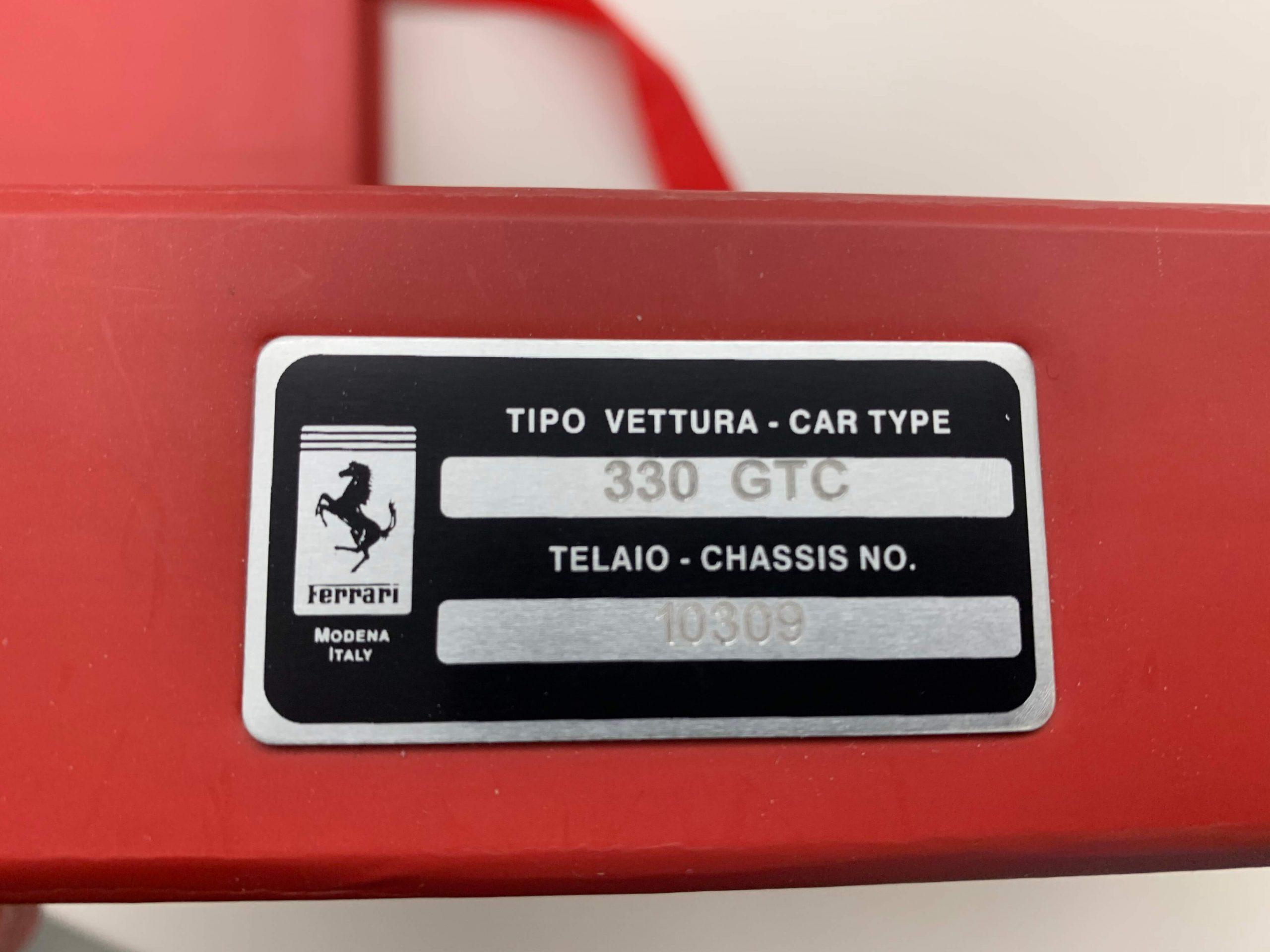 Classiche Ferrari 330 GTC