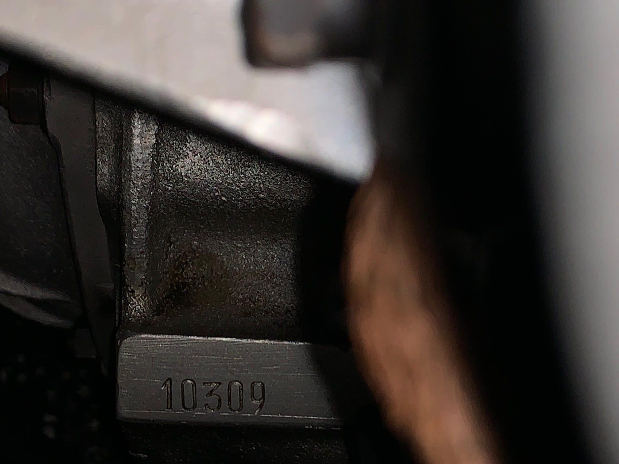 Ferrari 330 GTC Engine Number