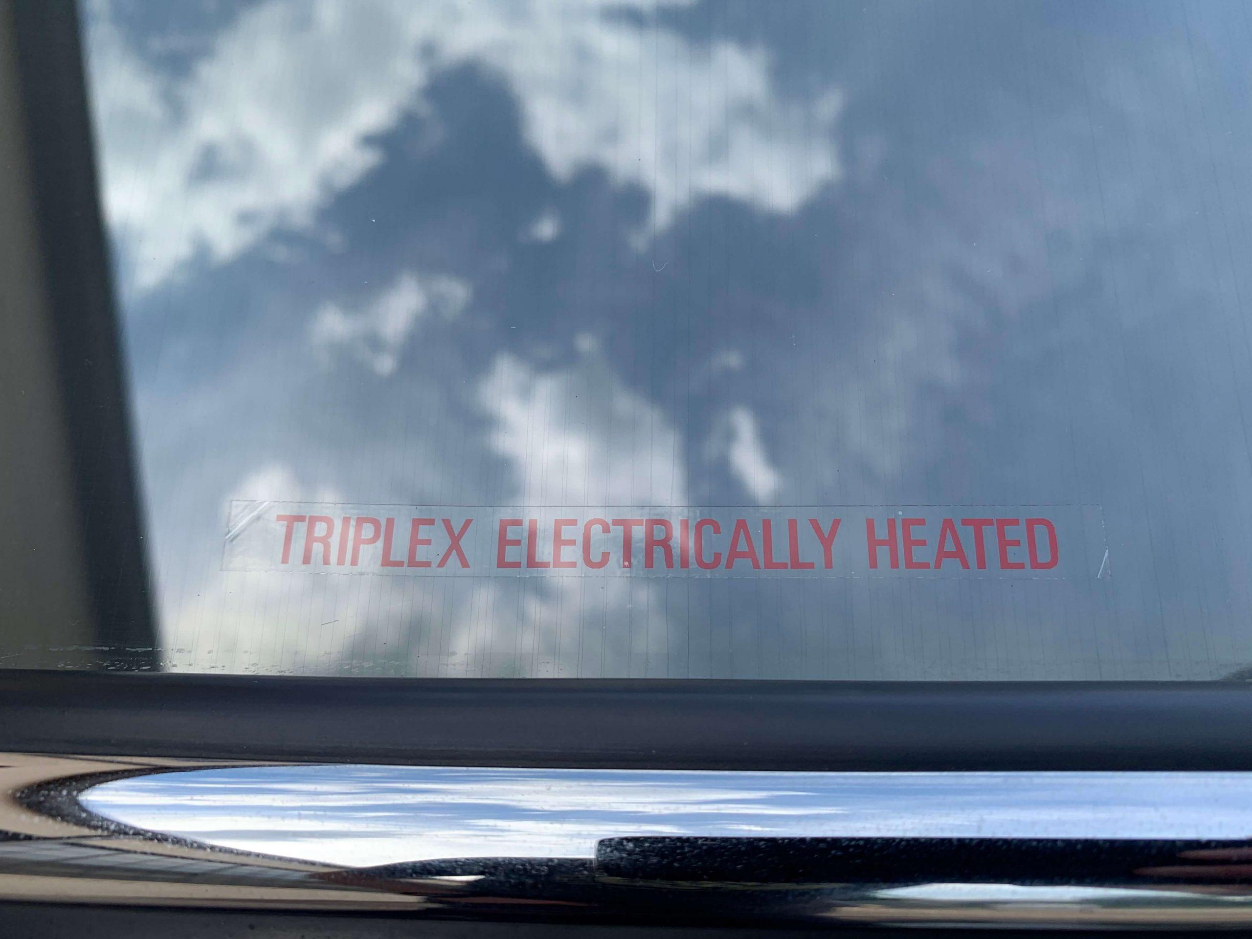 Ferrari 330 GTC Heated rear glass