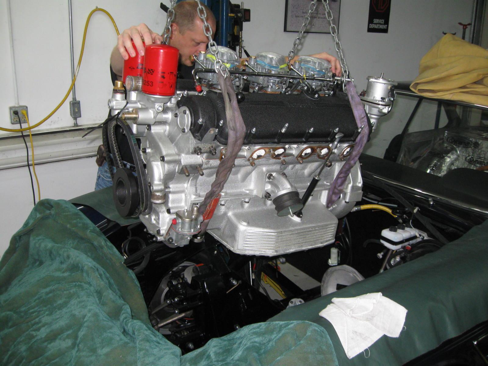 Ferrari 330 GTC engine