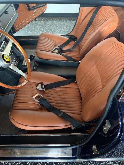 Ferrari 330 GTC driver seat