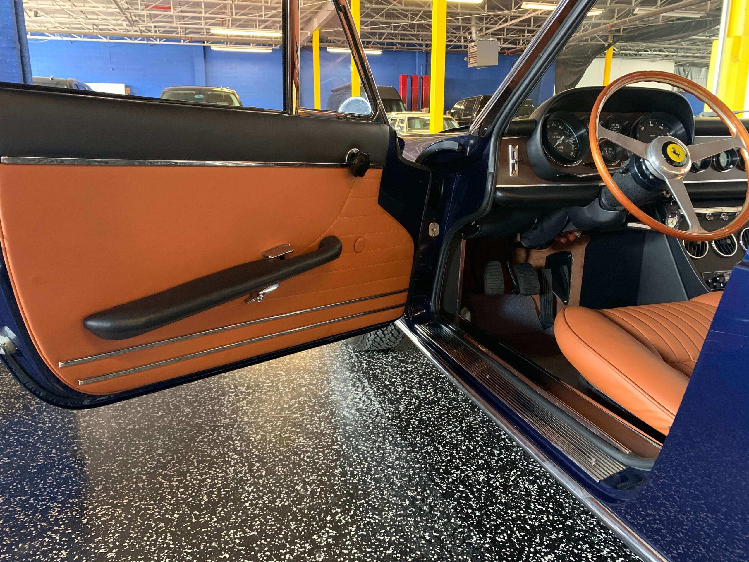 Ferrari 330 GTC Left inner door panel