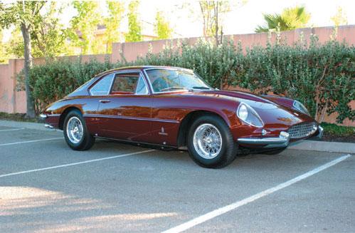 1963 Ferrari 400 Superamerica Right Side View