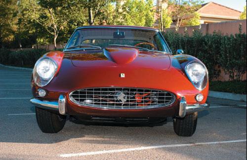 1963 Ferrari 400 Superamerica Front View