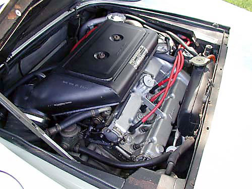 1974 Ferrari 246 GTS Engine Passenger View