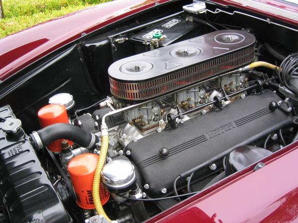 1963 Ferrari 400 Superamerica engine