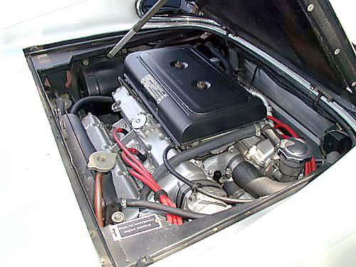 1974 Ferrari 246 GTS Engine driver View