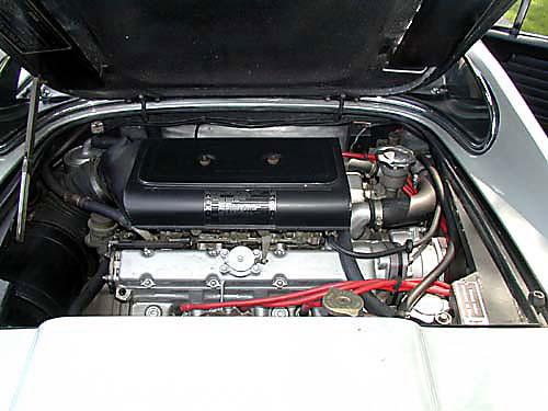 1974 Ferrari 246 GTS Engine