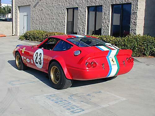 Ferrari 365 GTB4/C Comp Daytona driver rear
