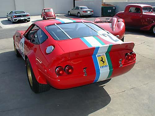 Ferrari 365 GTB4/C Comp Daytona rear view