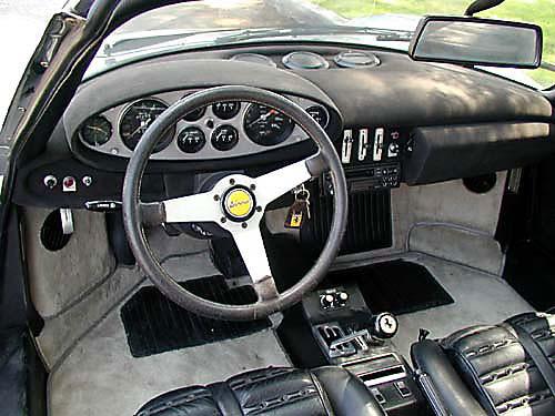 1974 Ferrari 246 GTS Dash