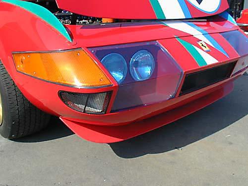 Ferrari 365 GTB4/C Comp Daytona passenger headlight