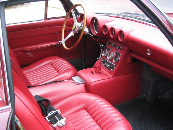 1963 Ferrari 400 Superamerica dash