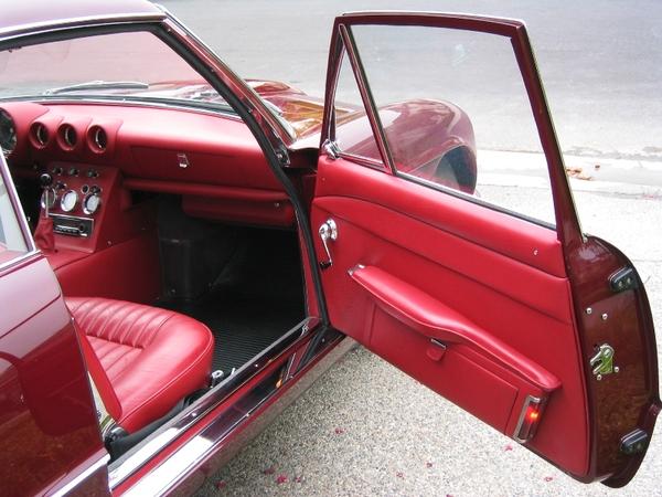 1963 Ferrari 400 Superamerica passenger door inner
