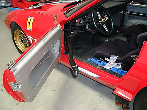 Ferrari 365 GTB4/C Comp Daytona interior