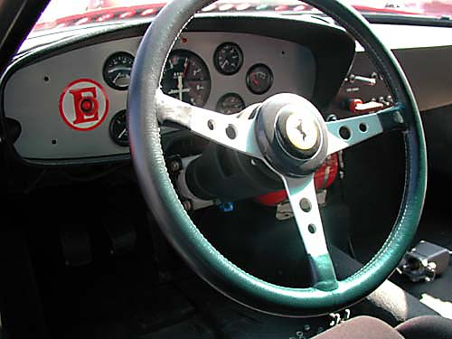 Ferrari 365 GTB4/C Comp Daytona steering wheel