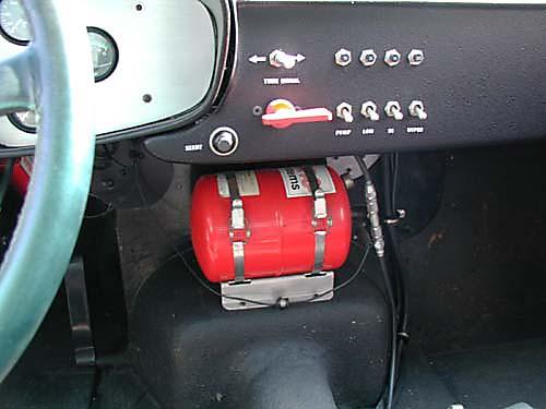 Ferrari 365 GTB4/C Comp Daytona dashboard