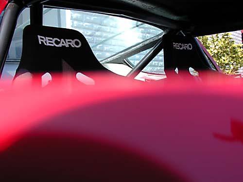 Ferrari 365 GTB4/C Comp Daytona interior view