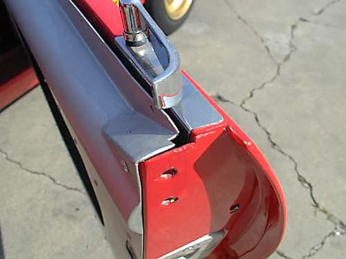 Ferrari 365 GTB4/C Comp Daytona passenger door handle