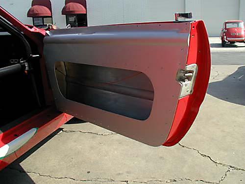 Ferrari 365 GTB4/C Comp Daytona door interior